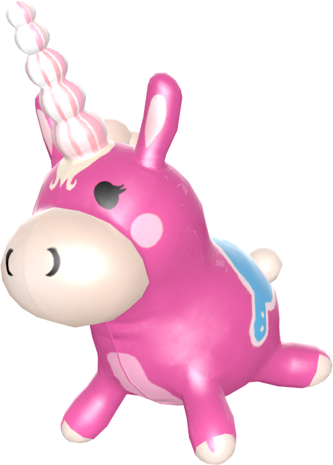 Team Fortress Painted_Balloonicorn_FF69B4