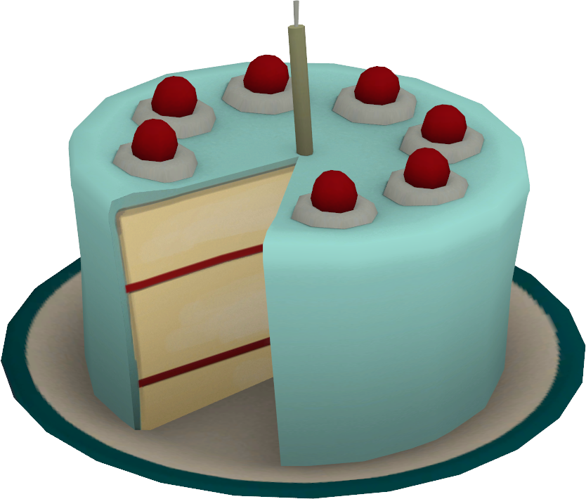 TF2 Birthday Cake