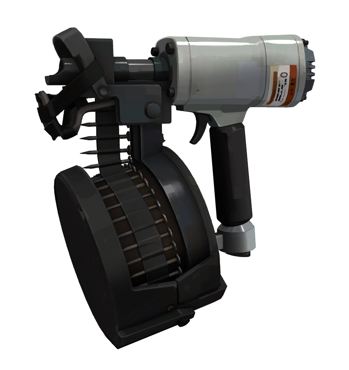 Dise os conceptuales official tf2 wiki official team fortress wiki - Pistolet a clou ...