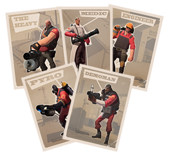 Team fortress 2 trading cards