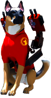 The Guard Dog as shown on the update page.