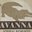 Savannah Animal Reserve Sign