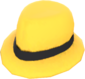 Painted Flipped Trilby E7B53B.png