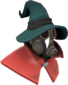 Painted Seared Sorcerer 2F4F4F Hat and Cape Only.png