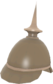 Painted Prussian Pickelhaube 7C6C57.png