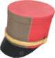 Painted Scout Shako 7C6C57.png
