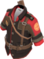 Painted Poacher's Safari Jacket 2D2D24.png