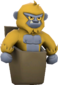 Painted Pocket Yeti E7B53B.png