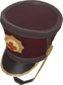 Painted Surgeon's Shako 3B1F23.png