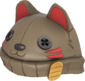 Painted Lucky Cat Hat 7C6C57.png