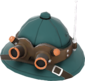 Painted Lord Cockswain's Pith Helmet 2F4F4F.png