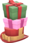 Painted Towering Pile of Presents FF69B4.png
