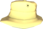 Painted Summer Hat F0E68C.png