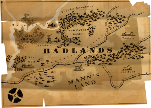 Map of Badlands ficial TF2 Wiki