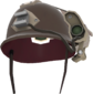 Painted Cross-Comm Crash Helmet 424F3B.png