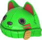 Painted Lucky Cat Hat 32CD32.png