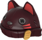 Painted Lucky Cat Hat 3B1F23.png