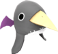 Painted Prinny Hat 7E7E7E.png