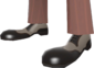 Painted Rogue's Brogues A89A8C.png