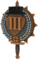 Painted Tournament Medal - Chapelaria Highlander 839FA3 Third Place.png