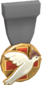 Painted Tournament Medal - Heals for Reals 7E7E7E Donor Medal.png