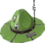 Indubitably Green (Full Metal Drill Hat)