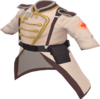 "Unique Colonel's Coat (Custom Description: ""Earned by knowledgeable few who know how to be a real colonel for their team."")(Paint Color: Waterlogged Lab Coat)"