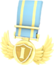 BLU Tournament Medal - CustomLander TF2 Gold Medal.png