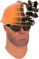 Painted Defragmenting Hard Hat 17% 694D3A.png