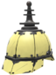 Painted Platinum Pickelhaube F0E68C.png