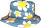Painted Summer Hat 5885A2 Carefree Summer Nap.png