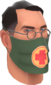 Painted Physician's Procedure Mask 424F3B.png