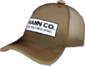 Painted Mann Co. Cap 7C6C57.png