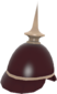 Painted Prussian Pickelhaube 3B1F23.png