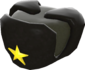Painted Officer's Ushanka 2D2D24.png