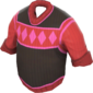 Painted Siberian Sweater FF69B4.png
