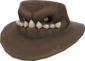 Painted Snaggletoothed Stetson 7C6C57.png