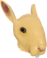 Painted Horrific Head of Hare E7B53B.png
