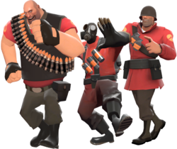 Conga - Official TF2 Wiki | Official Team Fortress Wiki