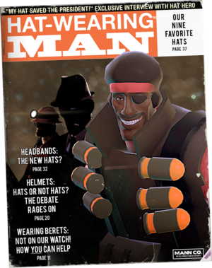 Cosmetic items - Official TF2 Wiki | Official Team Fortress Wiki