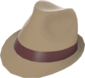 Painted Fancy Fedora 7C6C57.png