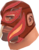 The Value of Teamwork (RED) (Large Luchadore)