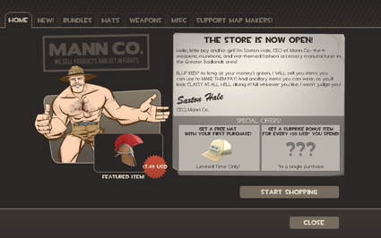 Mann Co. Store Page