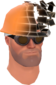 Painted Defragmenting Hard Hat 17% 7C6C57.png