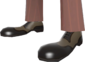 Painted Rogue's Brogues 7C6C57.png