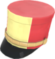 Painted Scout Shako F0E68C.png