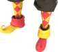 Painted Harlequin's Hooves E7B53B.png