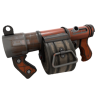 Backpack Rooftop Wrangler Stickybomb Launcher Well-Worn.png