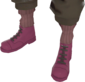 Painted Brooklyn Booties FF69B4.png