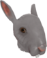 Painted Horrific Head of Hare 483838.png